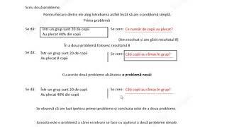 Cum rezolv orice problemă de matematică în 4 pași. Cum aflu p% dintr-un întreg. Nivelul 2 din 4