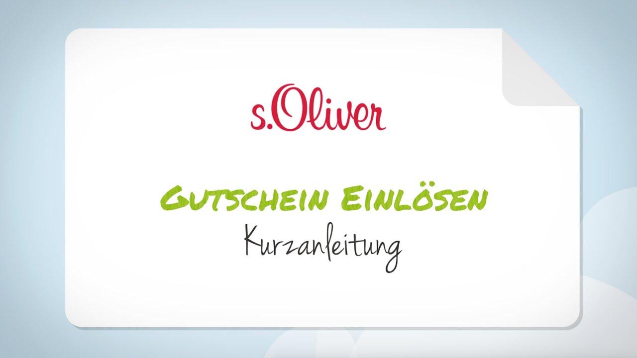 S.Oliver Gutschein Glamour