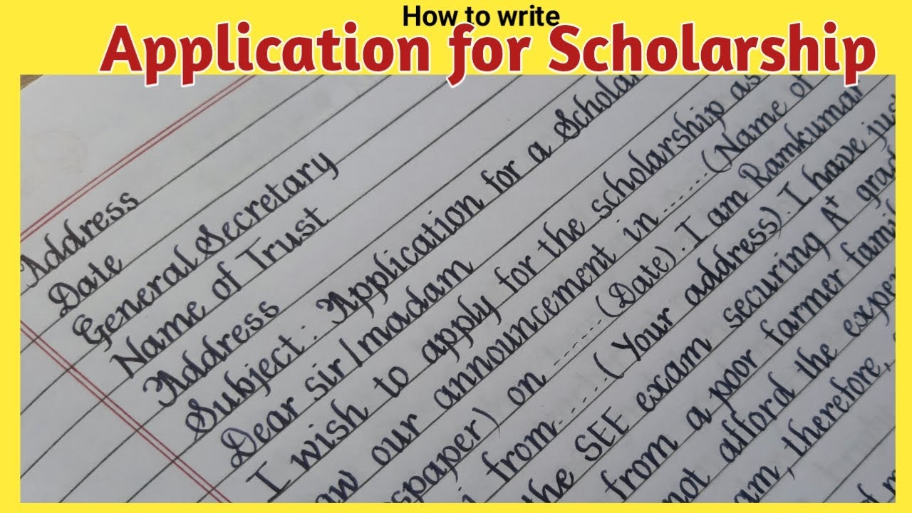 Jun 28, 2020 · new zealand government scholarship result announcement 2021 application for urgent piece of work: How To Write Application For Scholarship College Learners