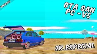 GTA San PC MODIFICADO v5 - BrGameplay 2017✔ - Download+SaveGame+Gameplay - 2k