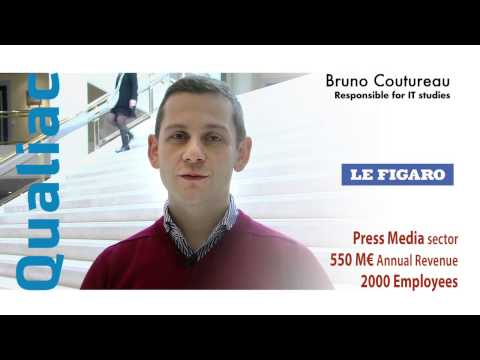 Qualiac Group ERP Solution - Testimonial Le Figaro Groupe (En) - Press Media