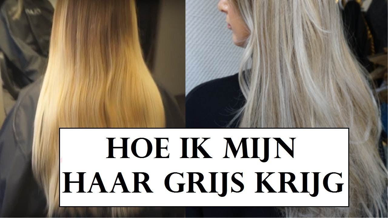 New VAN GEEL NAAR GRIJS HAAR? - YouTube &TG32