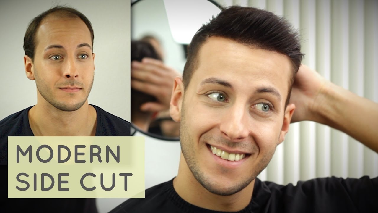 Mens Short Hairstyle Inspiration Modern Sidepart Haircut Mit