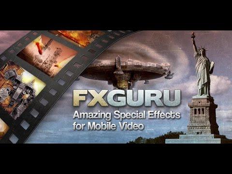 Спецэффекты для видео на Андроид