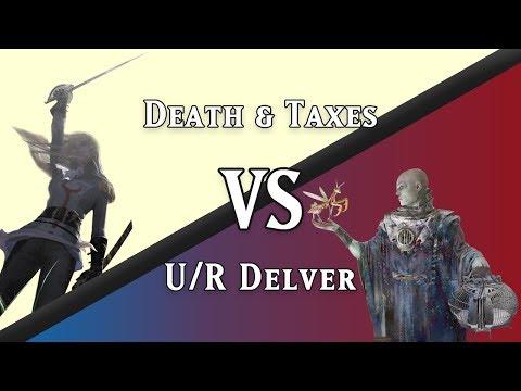 U/R Delver vs. Death & Taxes (Legacy)