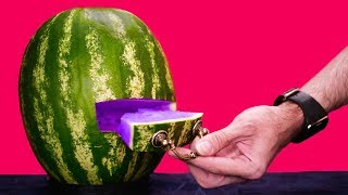 5 SUPERB WATERMELON LIFE HACKS AND CARVING DECORATIONS