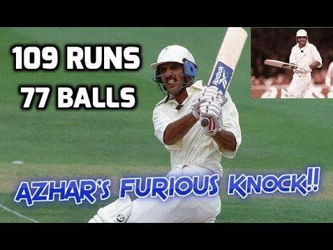 Mohammad Azharuddin 109 Off 77 Balls Vs South Africa 2nd Test 1996 | AZHAR'S MOST FURIOUS CENTURY!!