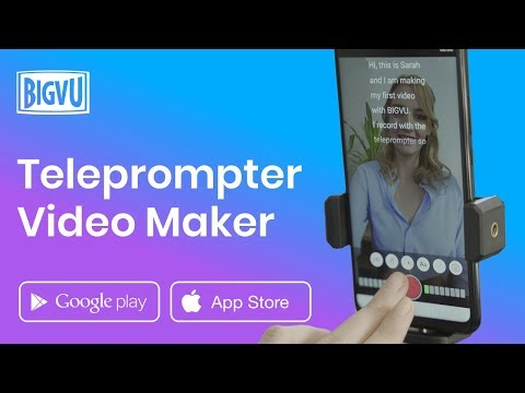 Teleprompter App for iPhone, iPad, iOS & Android