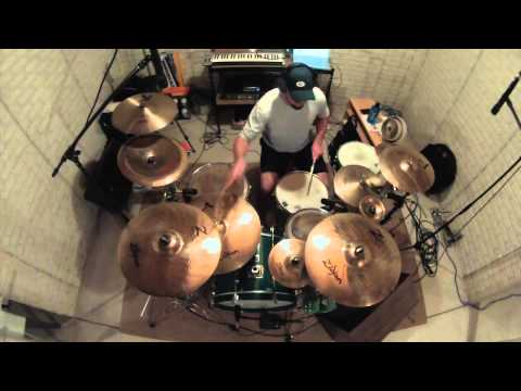 Fade Away  Breaking Benjamin  drum   GoPackGoDrummer