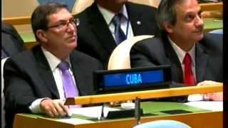Votación en la ONU del bloqueo 2015