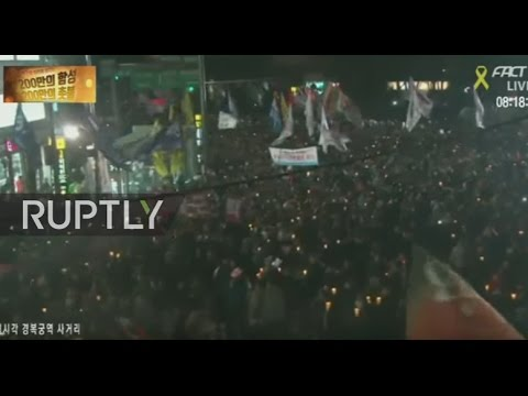 LIVE: Mass protests expected in Seoul demanding President Park's resignation