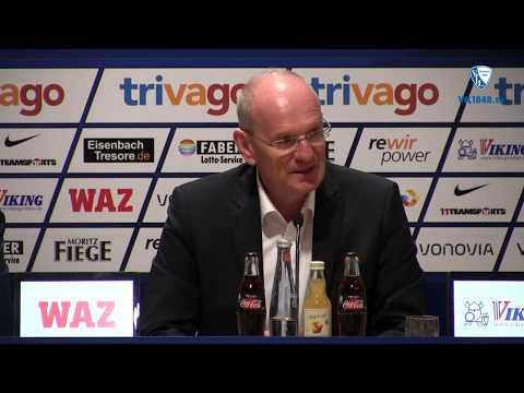 Die Pressekonferenz vor der Partie VfL Bochum 1848 - SV Darmstadt 98