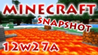 Minecraft Snapshot 12w27a - RedCrafting Review