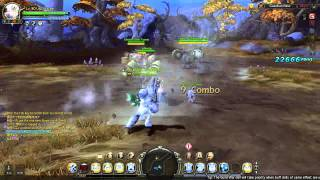 Dragon Nest - lvl 80 Ice Gear Master Solo