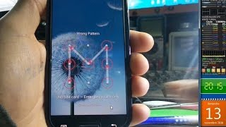 طريقة ازالة النمط قفل الشاشة بدون فورمات او فقدان المعلومات لهاتف سامسونج