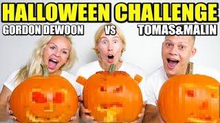 HALLOWEEN CHALLENGE *GORDON DEWOON VS TOMAS OCH MALIN*