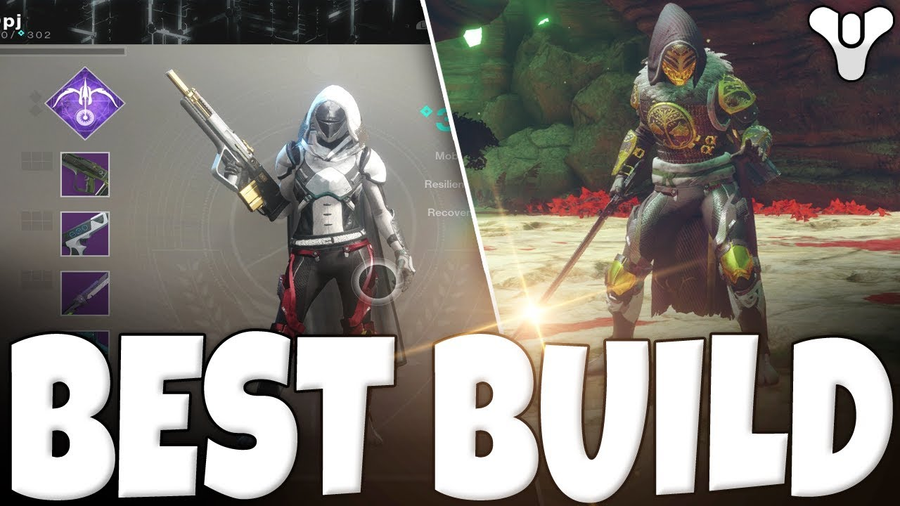 Destiny 2 - Best Build In The Game For HUNTERS!! MUST TRY!! Fastest & Most  Fun!