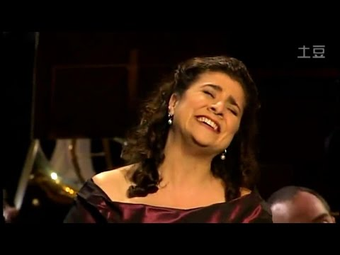 CECELIA BARTOLI ~ Mozart Concert Arias - Nikolaus Harnoncourt  LIVE