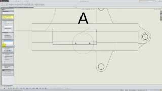 Solidworks. Урок 9.5. Местный вид - создание чертежа