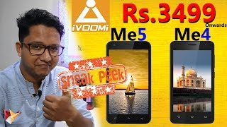 iVooMi Launches 2 Budget 4G Volte Smartphones ME5 & ME4 Under The Price of Rs.4500/- | Sneak Peek