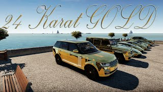 Forza Horizon 2 - ARAB Cruise: 24 KARAT GOLD!