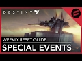 Destiny: Rise of Iron - Tower Special Events Section Now Open? // Weekly Reset Guide