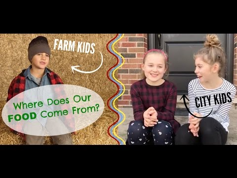 Farm kid vs city kid