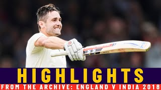 India 1st Innings Collapse as Woakes Hits Maiden Ton   Classic Match   England v India 2018   Lord's