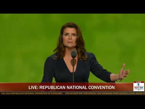 Actress Kimberlin Brown Full Speech at Republican National Convention