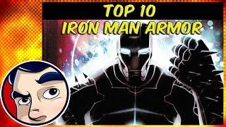 Top Ten Coolest Iron Man Armor (Benny's Picks!)