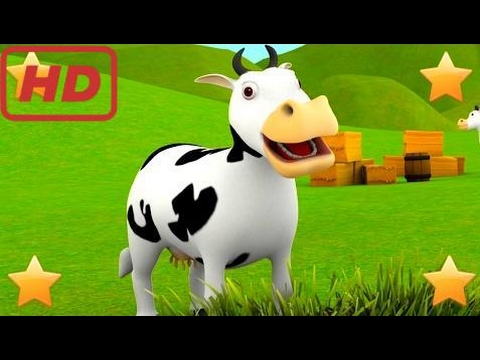 Kid and Family | The Farmer in the Dell | 3D Kids Nursery Rhymes Songs Compilation | Baby Song by L