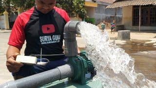 JET800 pompa air modif seperti diesel keluaran air nya