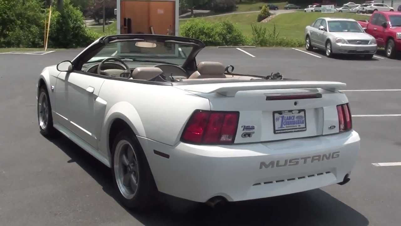 For sale 2004 ford mustang gt 40th ann edition convertible stk p5625s