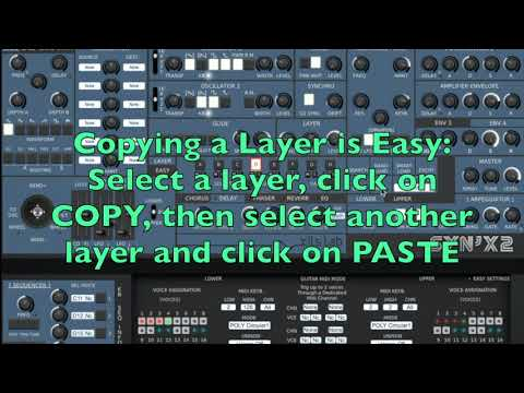 SynX 2.5: Layers Editing