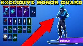 FAN GIVES ME *NEW* RARE HONOR GUARD ACCOUNT! (Fortnite Rare Accounts!)