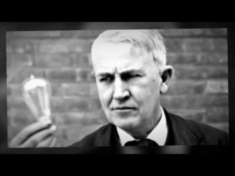 Edison Uitvinder Van De Gloeilamp