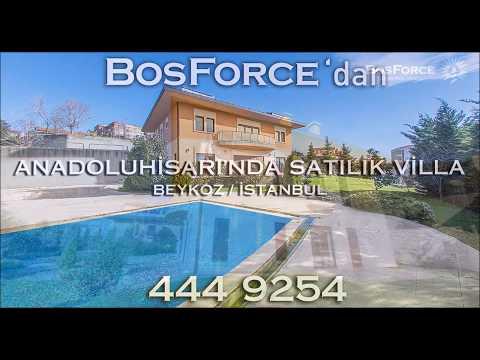 Anadoluhisarı'nda Satılık Villa
