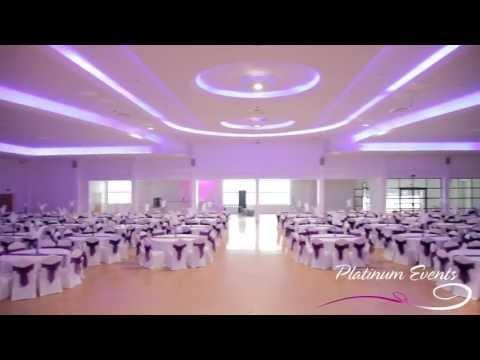 Platinum Events - Maher Centre Leicester Full Wedding Event Decor