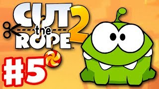 Cut the Rope 2 - Gameplay Walkthrough Part 5 - Junkyard! 3 Stars! (iOS, Android)