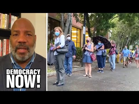 """A Fire That Has Spread Across the Country"": Jelani Cobb on Voter Suppression in the 2020 Election"