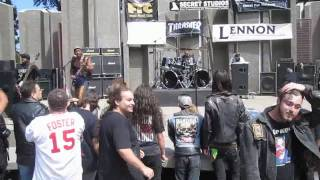 Stone Vengeance - at Tidal Wave 2010 free metal concert