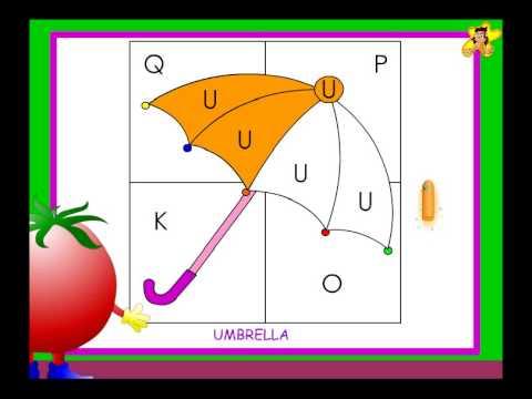 Kindergarten letter identification worksheet   U