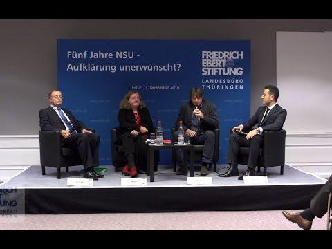 Diskussion: Fünf Jahre NSU - Aufklärung unerwünscht?