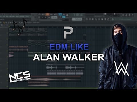 HOW TO MAKE: EDM Like Alan Walker - FL Studio Tutorial