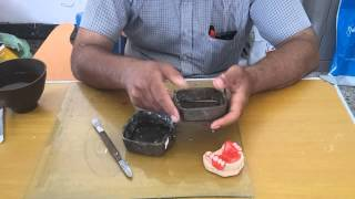 Dr.Tariq – Flasking of acrylic  removable partial denture دكتور.طارق جاسم محمد