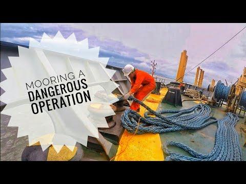Ship Mooring Operation