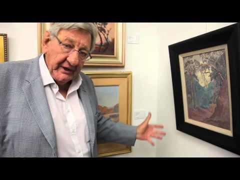 "Stephan Welz discusses JH Pierneef's ""Houtbos"""