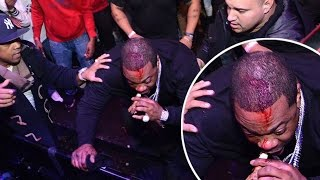 Gambar cover Busta Rhymes Falls Off Stage!!