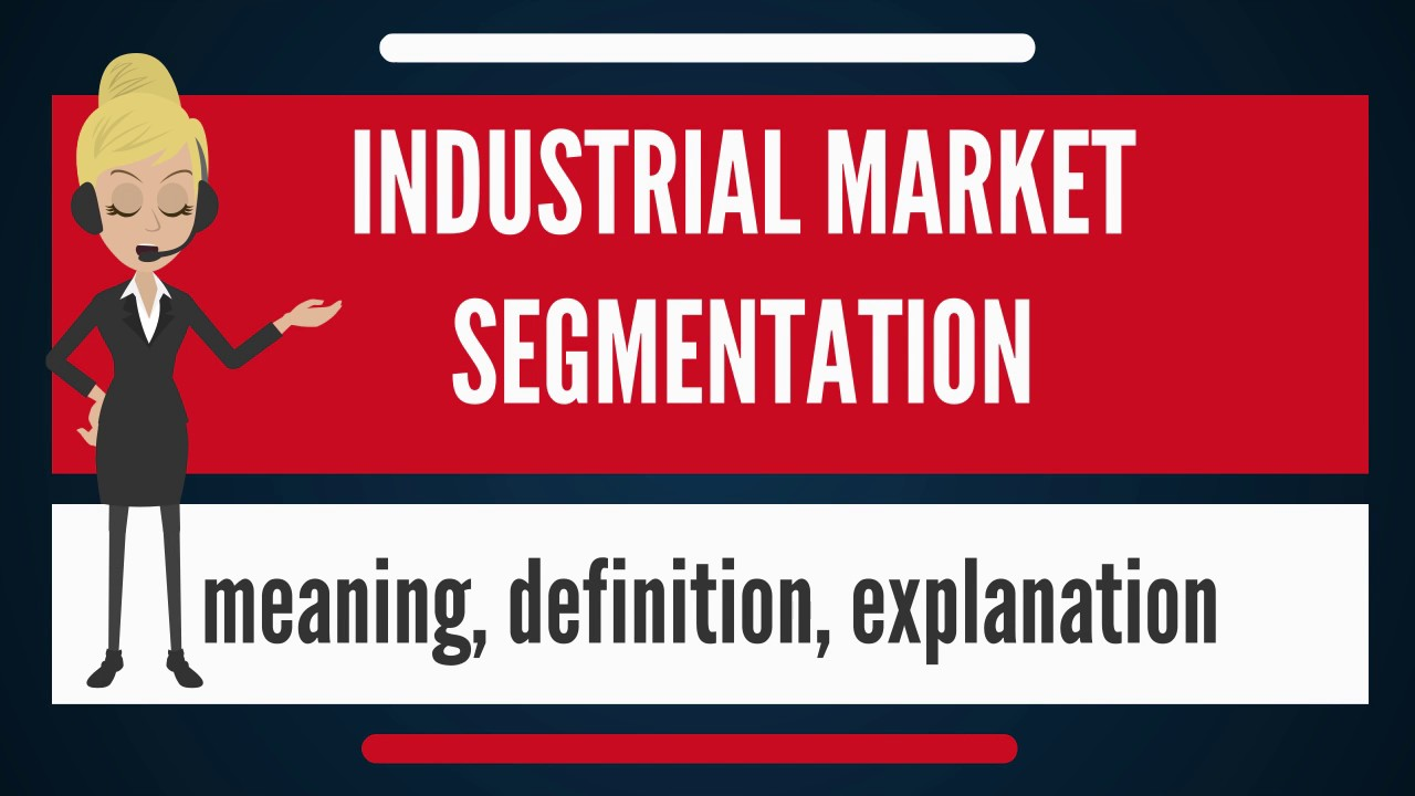what is industrial market segmentation? what does industrial market