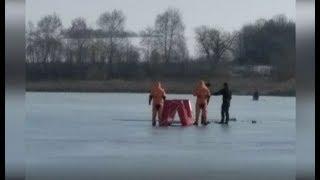 Опасная рыбалка под Харьковом мужчина погиб на озере   17.02.2020